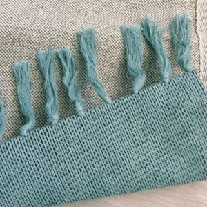 Vloerkleed Knitted Rug, Mountains van Trixie Baby – My Little Carpet
