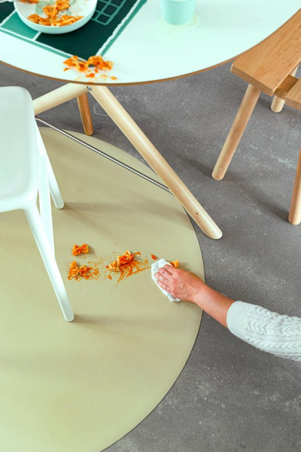 Knoeimat, Splat Mat Linen van Everleigh & Me - My Little Carpet