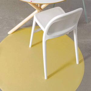 Knoeimat, Splat Mat Mustard van Everleigh & Me - My Little Carpet