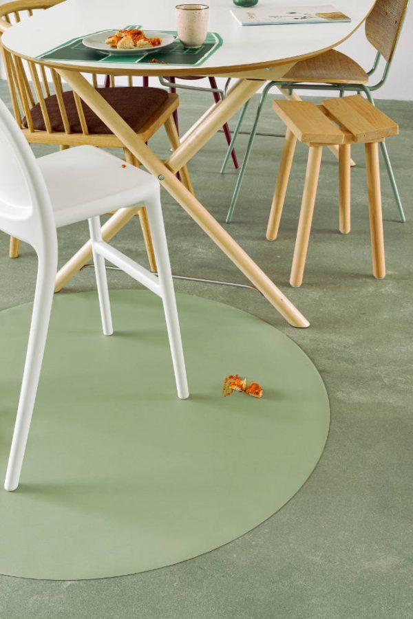 Knoeimat, Splat Mat Olive van Everleigh & Me - My Little Carpet