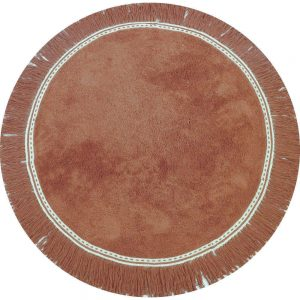 Vloerkleed Round Anna Brownie van Tapis Petit - My Little Carpet