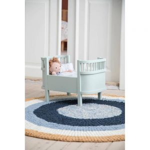 Vloerkleed Geknoopt Harbour Blue van Sebra - My Little Carpet