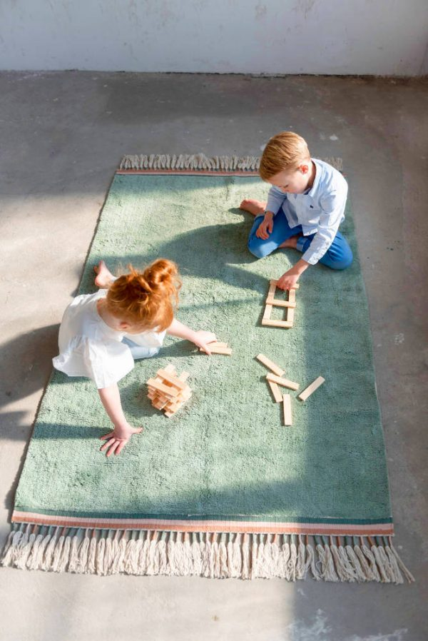 Vloerkleed Rug Julie Ocean van Tapis Petit - My Little Carpet