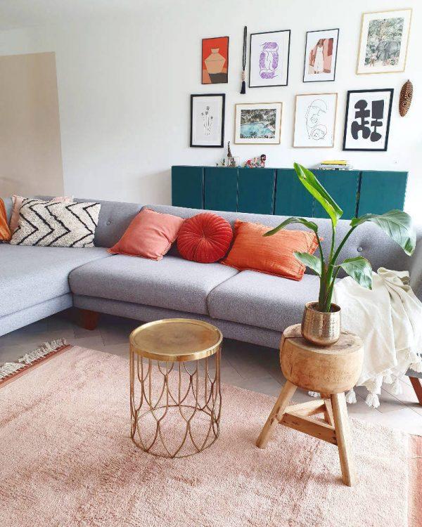 Vloerkleed Rug Julie Pink van Tapis Petit - My Little Carpet