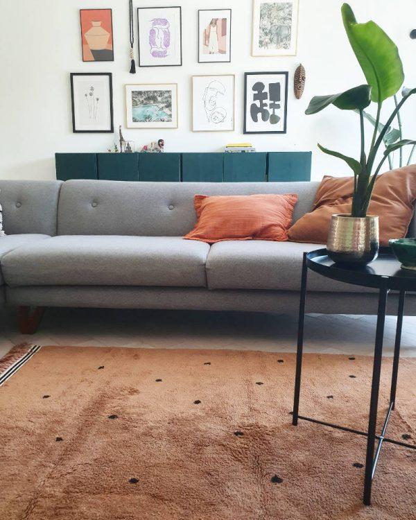 Vloerkleed Rug Semmie Dots van Tapis Petit - My Little Carpet