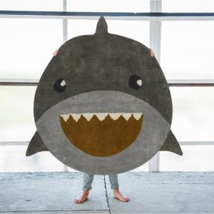 Rond vloerkleed Shark / Haai van Tapis Petit - My Little Carpet