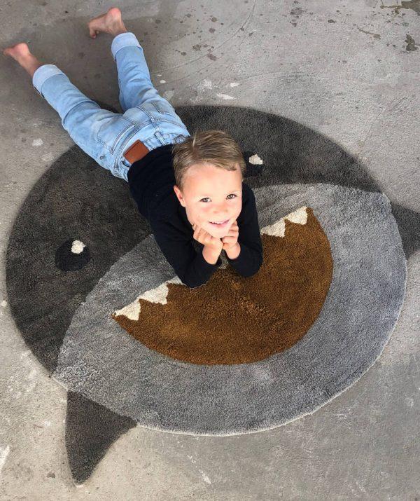 Rond vloerkleed Shark / Haai van Tapis Petit - My Little Carpet