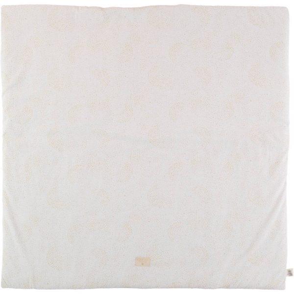 Speelkleed Colorado, Gold Bubble White van Nobodinoz - My Little Carpet