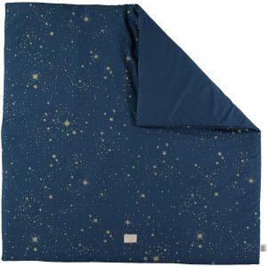 Speelkleed Colorado, Gold Stella Night Blue van Nobodinoz - My Little Carpet