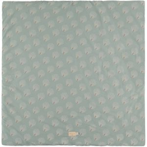 Speelkleed Colorado, White Gatsby Antique Green van Nobodinoz - My Little Carpet
