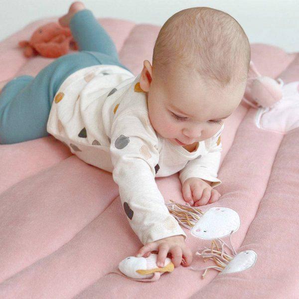 Baby Boxkleed / Speelkleed, Ocean Pink van Little Dutch - My Little Carpet