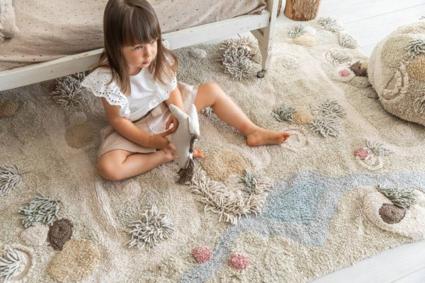 Vloerkleed/Speelkleed Path Of Nature van Lorena Canals - My Little Carpet