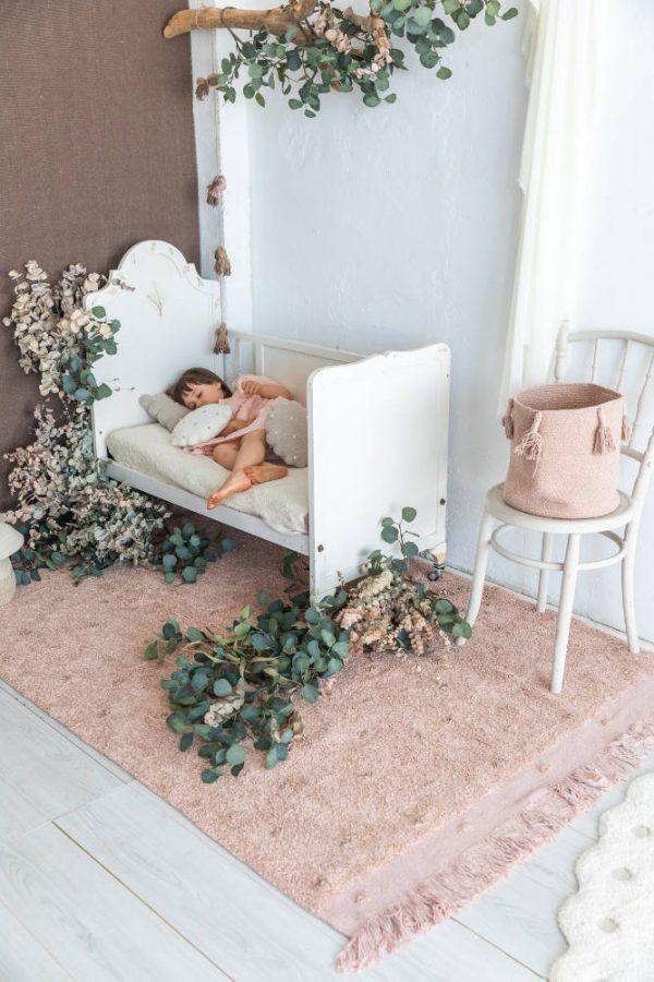 Vloerkleed Woods Symphony Vintage Nude van Lorena Canals - My Little Carpet