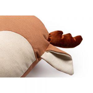 Dieren Kussen Deer Sienna Brown van Nobodinoz - My Little Carpet