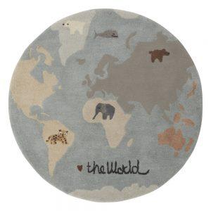 Vloerkleed The World van Oyoy - My Little Carpet