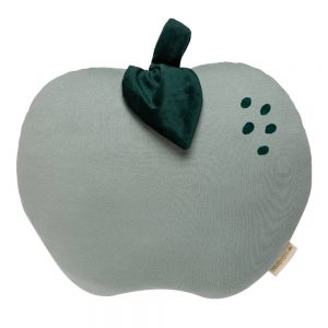 Fruit Kussen Apple Antique Green van Nobodinoz - My Little Carpet