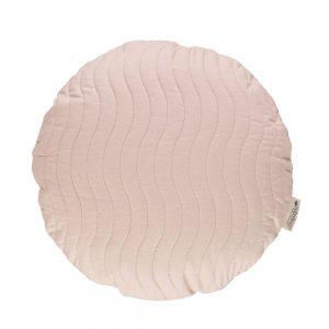 Rond kussen Sitges Bloom Pink van Nobodinoz - My Little Carpet