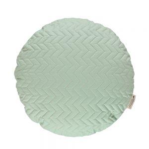 Rond kussen Sitges Provence Green van Nobodinoz - My Little Carpet