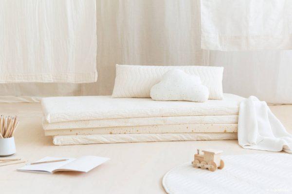 Speelmatras Monaco - New Natural van Nobodinoz - My Little Carpet