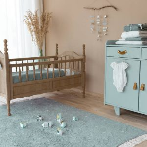 Vloerkleed Dot Pure Mint van Little Dutch - My Little Carpet