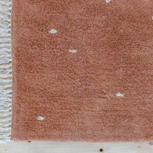 Vloerkleed Dot Pure Rust van Little Dutch - My Little Carpet