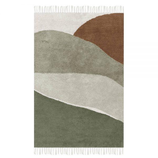 Vloerkleed Horizon Olive van Little Dutch - My Little Carpet