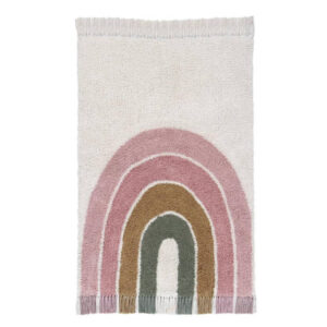 Vloerkleed Regenboog Pink van Little Dutch - My Little Carpet