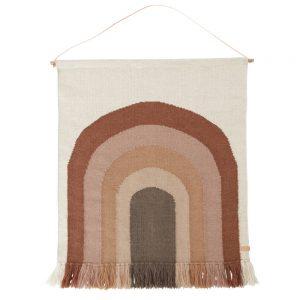 Wandkleed Follow The Rainbow Choko van Oyoy - My Little Carpet