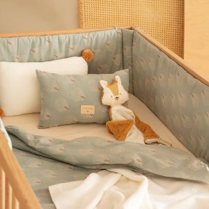 Kussen So Natural Knitted Milk van Nobodinoz - My Little Carpet