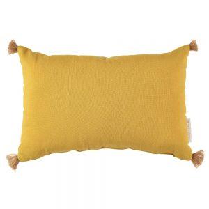 Kussen Sublim Farniente Yellow van Nobodinoz - My Little Carpet