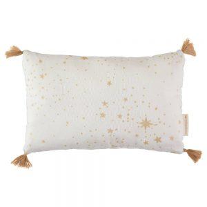 Kussen Sublim Gold Stella White van Nobodinoz - My Little Carpet