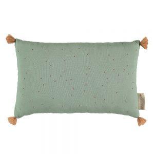 Kussen Sublim Toffee Sweet Dots Eden Green van Nobodinoz - My Little Carpet