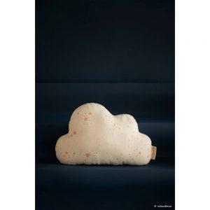 Cloud Wolk Kussen Gold Stella White van Nobodinoz - My Little Carpet