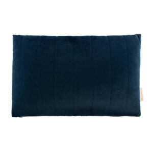 Akamba Velvet Kussen Night Blue van Nobodinoz - My Little Carpet