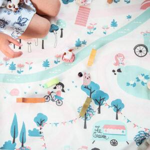 Speelkleed/Opbergzak Walk in a Park van Play and Go - My Little Carpet