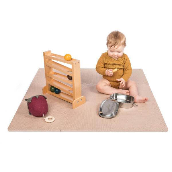 Foam speelmat Light Brown van That's Mine - My Little Carpet