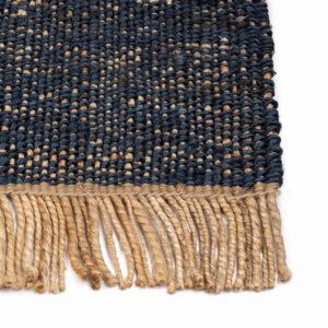 Jute vloerkleed Hind Blauw van KidsDepot - My Little Carpet