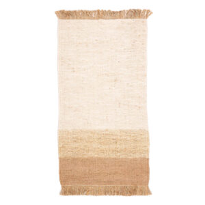 Jute vloerkleed Hind Roze van KidsDepot - My Little Carpet