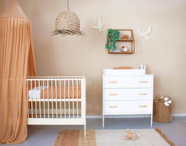 Jute vloerkleed Hind Roze van KidsDepot - My Little Carpet