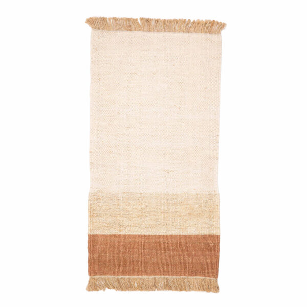 Jute vloerkleed Hind Terra van KidsDepot - My Little Carpet