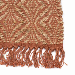 Jute vloerkleed Holly Roze van KidsDepot - My Little Carpet