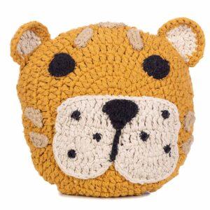 Animal kussen Leopard van KidsDepot - My Little Carpet