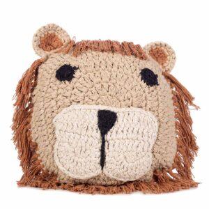 Animal kussen Lion van KidsDepot - My Little Carpet