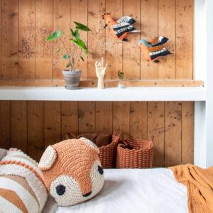 Animal kussen Squirrel van KidsDepot - My Little Carpet