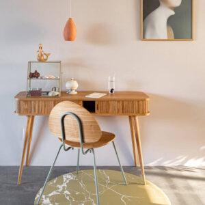 Knoeimat, Splat Mat Brown Marble van Everleigh & Me - My Little Carpet