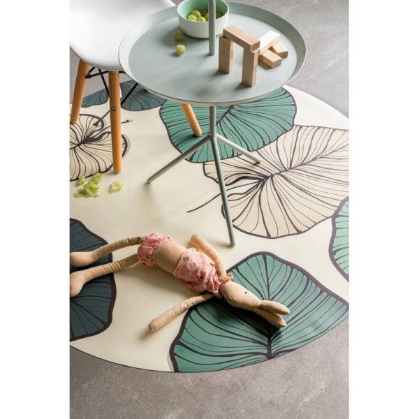 Knoeimat, Splat Mat Leaves van Everleigh & Me - My Little Carpet