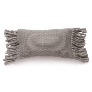 Wollen kussen Bo Grey van KidsDepot - My Little Carpet