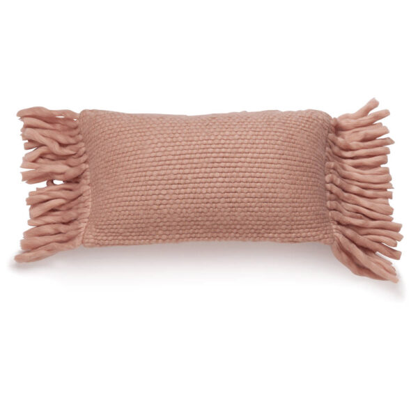 Wollen kussen Bo Pink van KidsDepot - My Little Carpet
