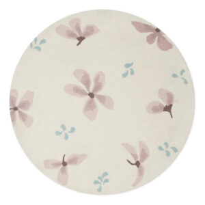 Wollen Vloerkleed Wildflower Cream van Cam Cam Copenhagen - My Little Carpet