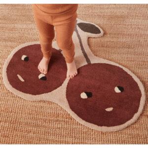 Vloerkleed Cherry van OYOY - My Little Carpet